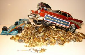 Midwest refineries are buyers of all karats of gold scrap smelter and refiner